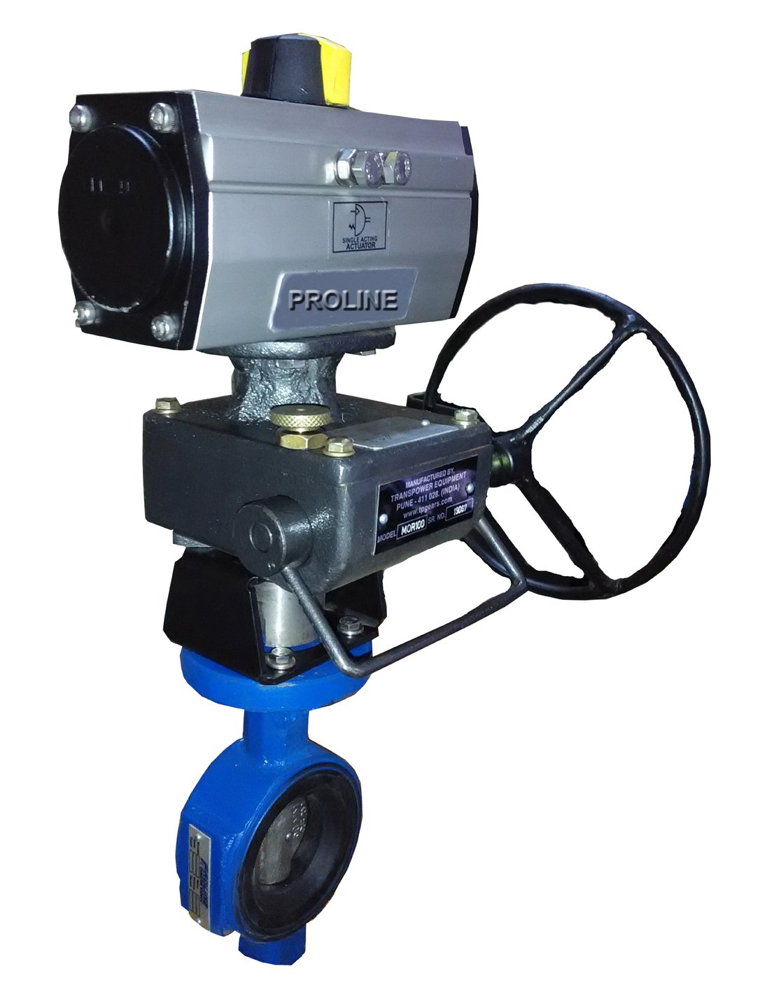 Pneumatic Butterfly Valve | Suppliers & Manufacturers India