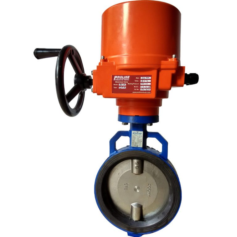 Motorized Butterfly Valve   Suppliers & Manufacturers India